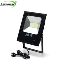 CE RoHs IP65 120lm/w 30W 50W high power led flood light for garden stadium street use