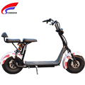 fat tire halley electric scooter with front and tail suspention fork 1000W