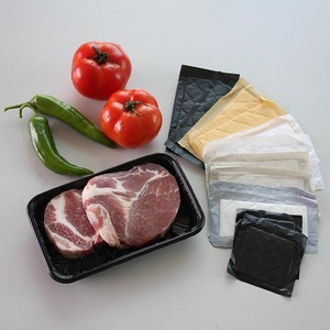 ISO9001 Certificate Absorbent Food Pad Meat , Absorbent Pads For Meat Packaging