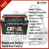 China Manufacturer/ dry charged starting battery Dry charged with acid