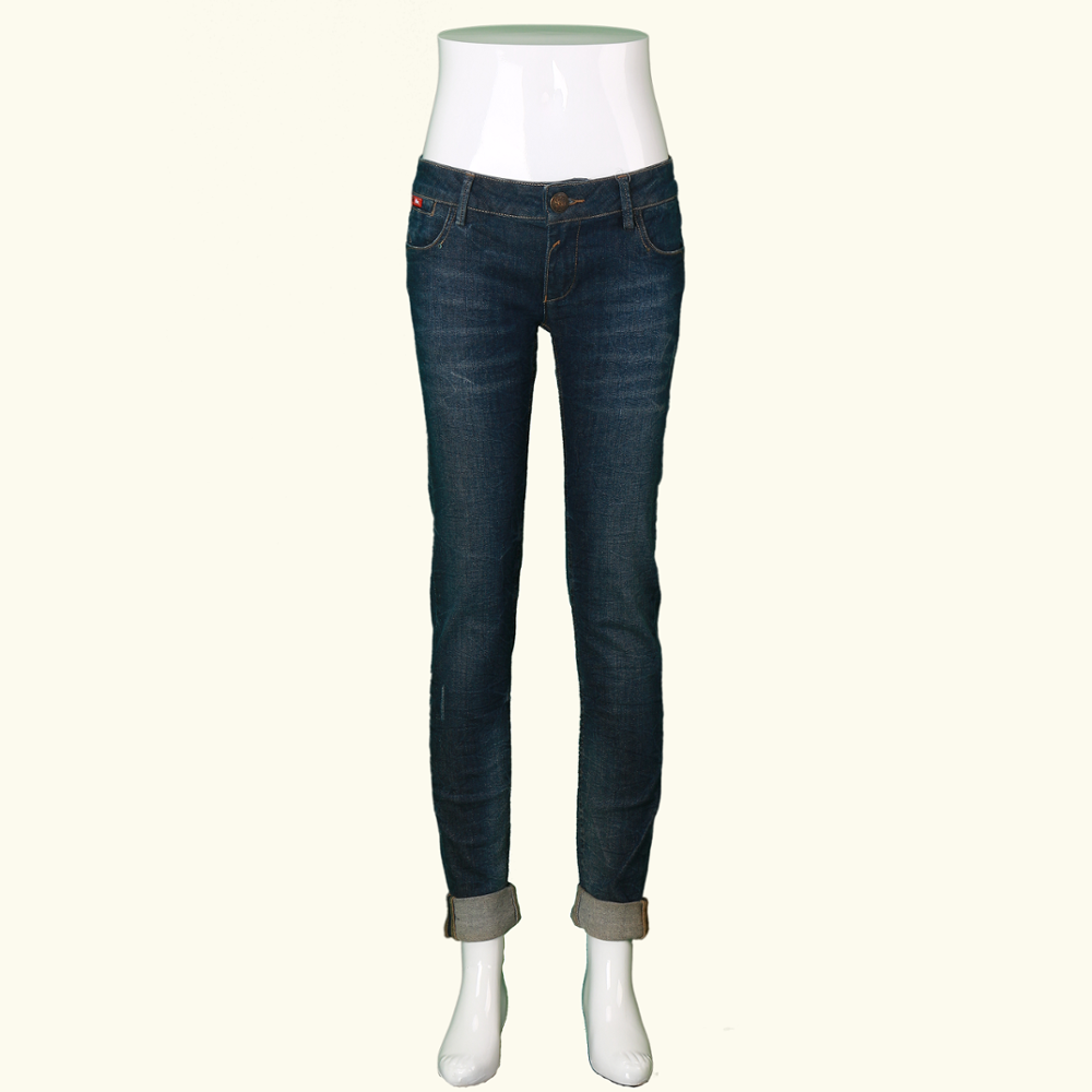 A/W 18 High Quality Smart Light Weight Ladies' Pure Cotton Denim Jeans