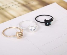 New Fashion Jewelry Cute Cat Finger Ring for Women