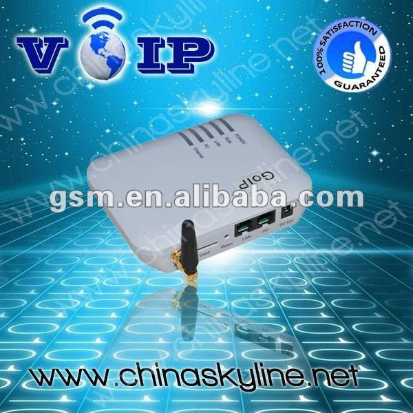 1 port goip Gateway / sip softphone with H.323 and SIP for call terminal