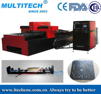 CNC metal laser cutting machine YAG 600w carbon, steel sheet laser cutting