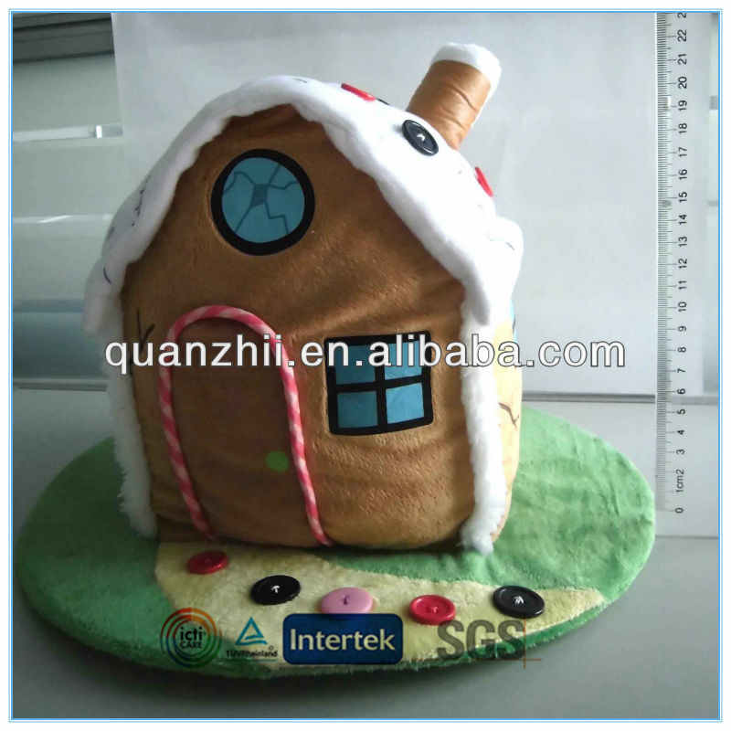 Plush house model toy for 2014