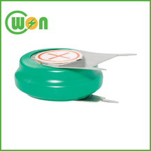 NIMH 40H 1.2v 40mah nimh button cell rechargeable nimh button cells