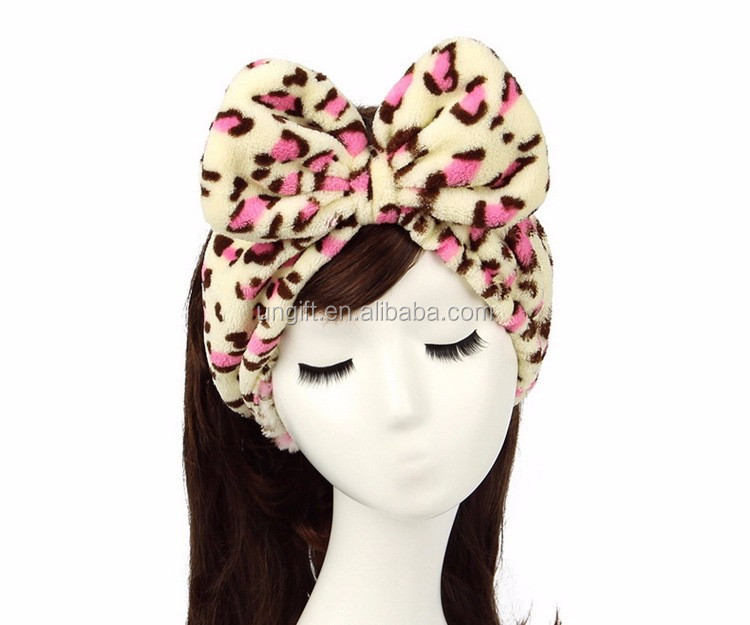 Wholesale Stretch Cotton Hair Band Snood lace Hairlace Headband For Woman Girl Beauty Washing Shower Bath