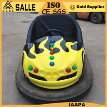 Kids ride stainless steel inflatable battery middle bumper car