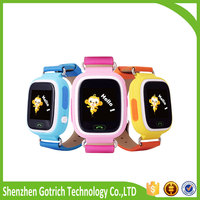 2016 promotional gift kids watch phone high quality personal go everywhere gps tracker