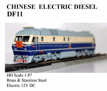 DF11, 1:87 HO electric train (Brass made)