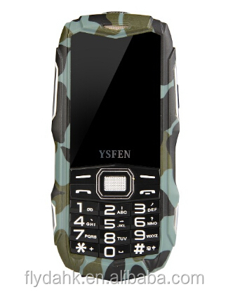 2.4 inch gsm 4 band rugged mobile phone y809+ ip67 bar waterproof rugged phone y809+ .