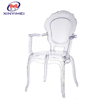 New Modern Wholesale Transparent Resin Leisure Chair