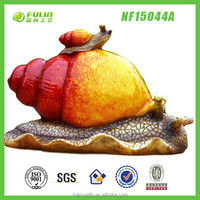 Novelties Snail Polyresin Garden Animal