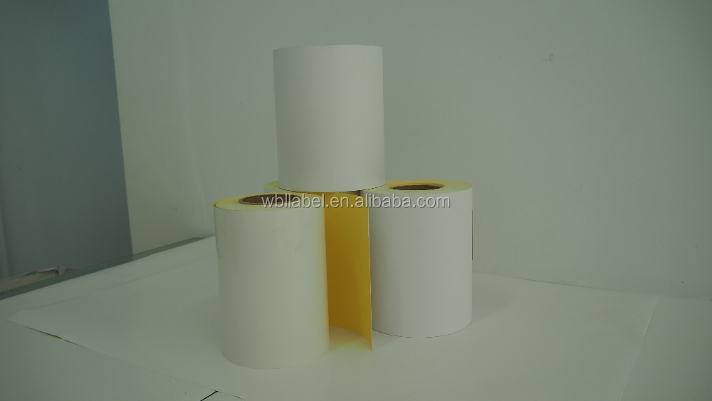 Self adhesive semi gloss coated paper A4 Size