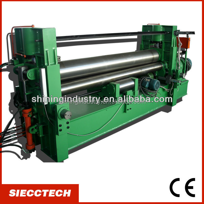 SIECC <strong>W11S</strong> 3R HS 3 <strong>ROLLS</strong> HYDRAULIC <strong>PLATE</strong> BENDING <strong>MACHINE</strong> IN NANTONG WITH COMPETITIVE PRICE AND HIGH QUALITY