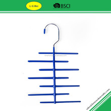 LM1033 Custom Bule pvc Wire Electric Tie Hanger With 12 racks