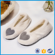 Colorful With Heart Design Soft Touch Baby Indoor Slipper Socks Thick Winter Wear Baby Socks