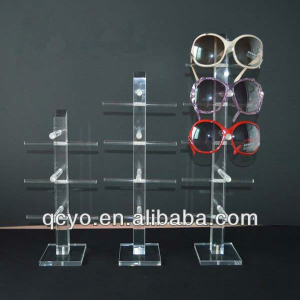 products China wholesale Desktop customize glass display shelf