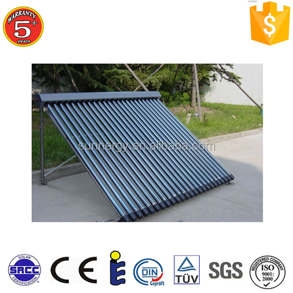 Changzhou solar heat pipe solar flat plate collector container house