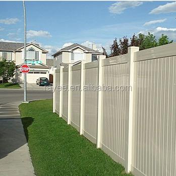 Vinyl pvc fence panels pvc valla de jardin buy cheap - Valla jardin pvc ...