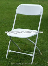 Virgin PP plastic and thicker metal tube Plastic Folding Chair