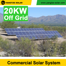 off grid 20kw solar power panel system