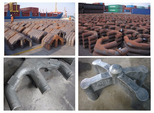 Customized Cast or Welded Stubs Anode Yokes for Aluminium Smelting in Iceland