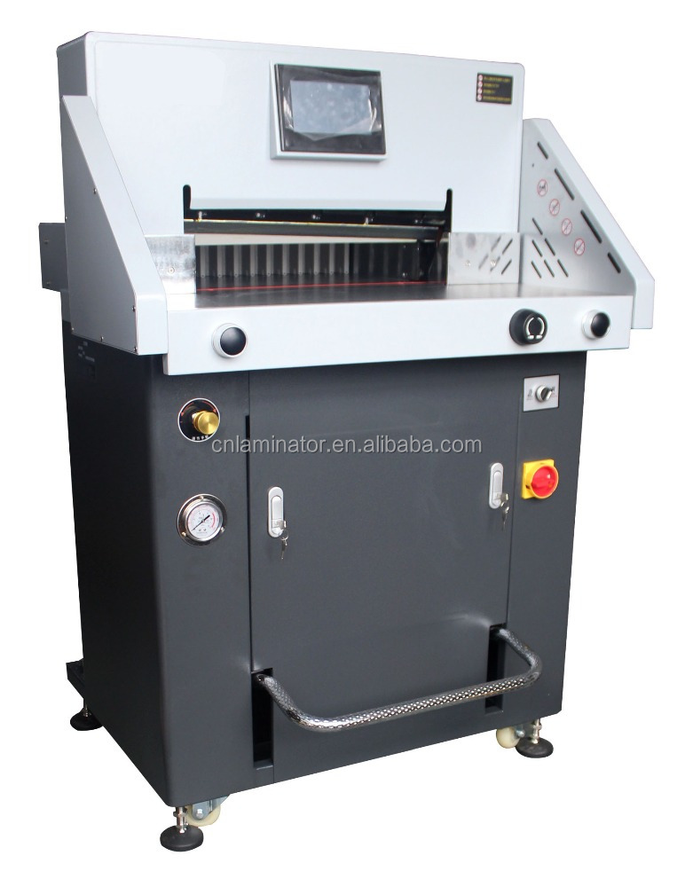 520mm 20inch Hydraulic Paper Cutter H520RT cutting 80mm thickness
