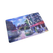 3D Lenticular dining table mat pp plastic placemat