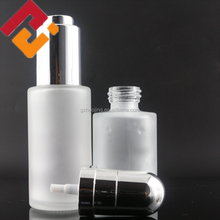 wholesale 30ml 50ml 100ml 120ml 150ml empty frosted clear cosmetic body lotion glass bottle with pump spray