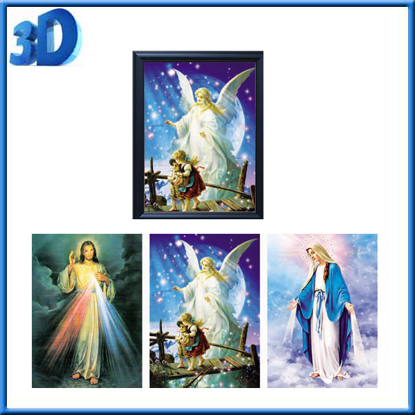 Quality 3d religion picture frame