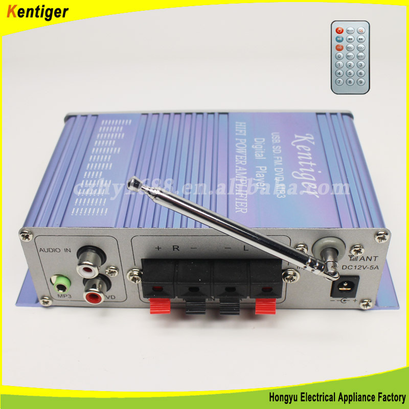 2ch with USB SD FM car amplifier