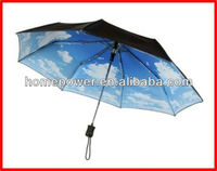 2013Promotion umbrella with foldable plastic cover supplier from china