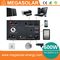 The cool apperance 600W practical automobile green solar bettery for emergency use, also charging USB MS-600PSS
