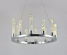 modern new design Creative led filament glass chandelier lighting from China factory