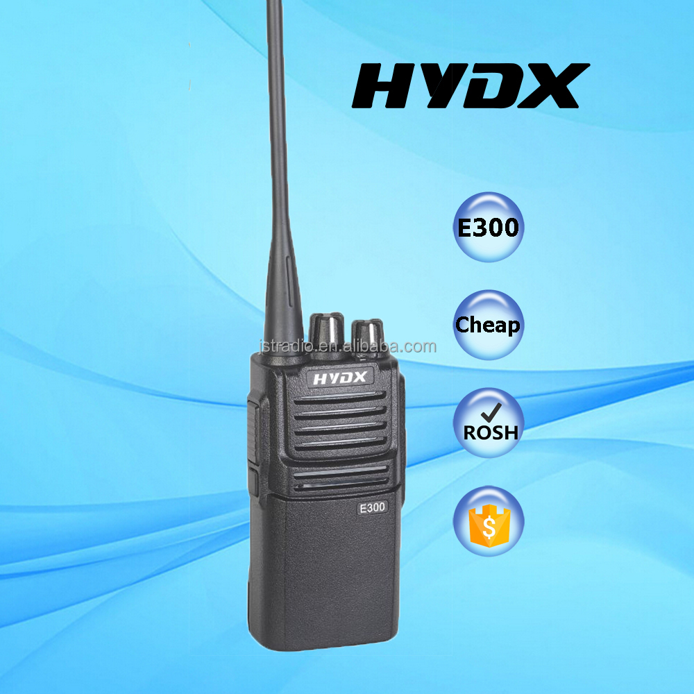 HYDX-E300 radio communication equipment two way portable radio with cheap price