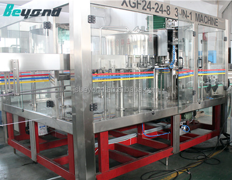 Perfect soda / beverage can filling line