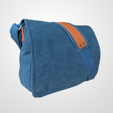 Canvas Messenger & Shoulder school Bags for Men and Women - Ideal for Work, College, School and Commuting
