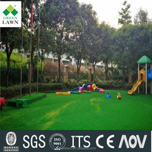 Summer green color synthetic grass for garden landscaping