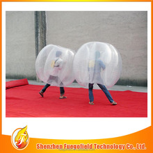 cheap PVC bubble suit for football soccer football goal post bubble glue balloon