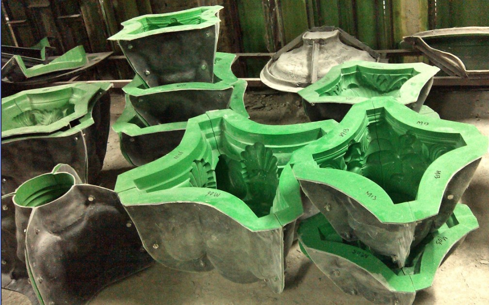 Fibreglass Reinforced Plastic Frp Molds For Gypsum