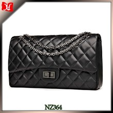 Fashion woman clutch bag quilted leather evening bag beaded clutch bag india