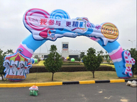 Factory inflatable arch for large events