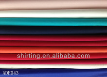 cotton poly spandex dyed poplin fabric for shirt TC POPLIN ready bulk