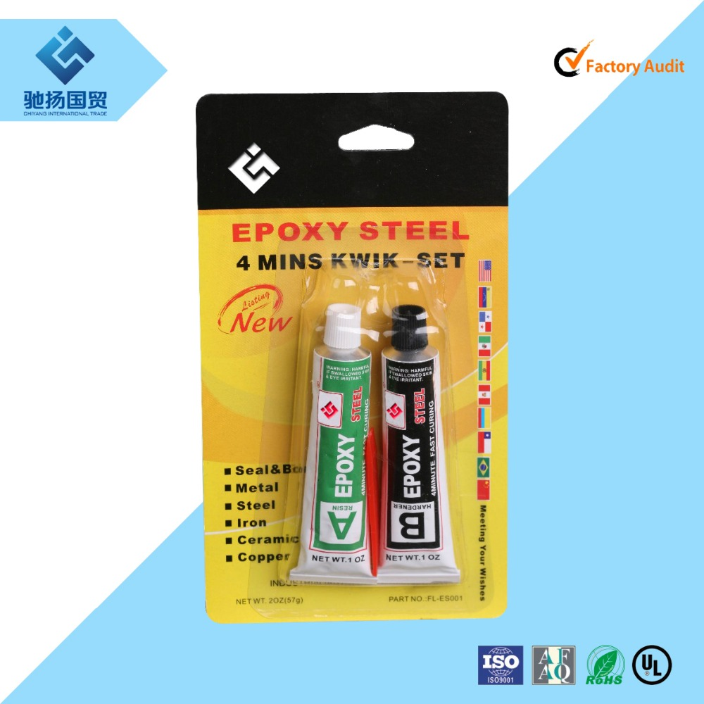 China factory for metal adhesive fast curing acrylic resin epoxy resin AB glue