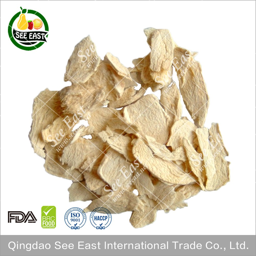 100% Natural instant vegetables AD dehydrated dried ginger