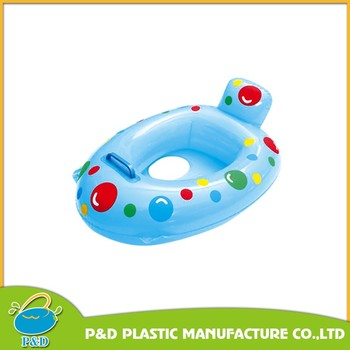 Inflatable Sunshade Baby Swim Seat Float with EU certification