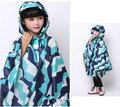 kids breathable waterproof polyester raincoat rain poncho