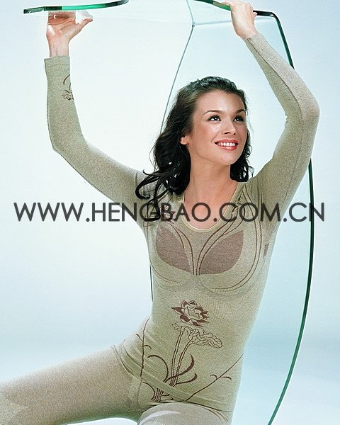 fashion seamless thermal underwear (HB034)