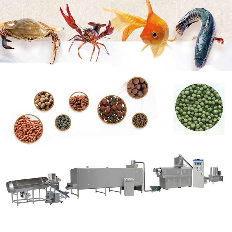 Semi automatic small scale fish food machine / Fish food extruder / mini dog fooder plant